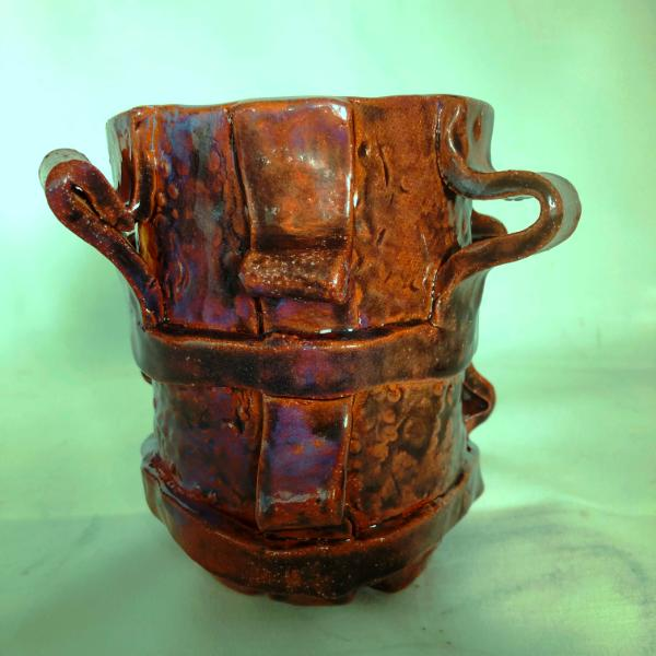 small oxblood cup