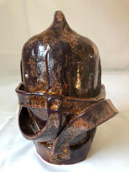 Helmet, bronze