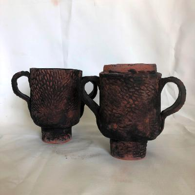 Double ceramic cup