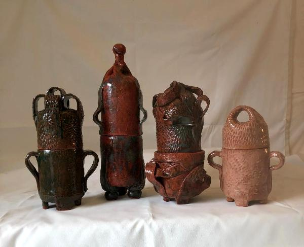 family of ceramic vessels