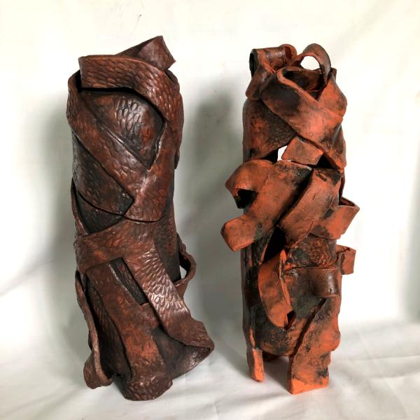 Two vessels, dancer and wrap